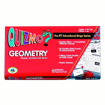 Learning Advantage™ Quizmo® Game: Geometry - Shapes, Symbols and Terms, Grades 4-8 Learning Advantage Games