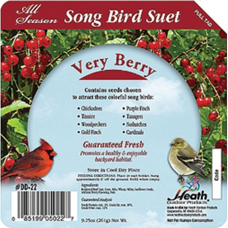 SONGBIRD SUET CAKE 16 CT.