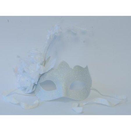 Princess Eye Mask - White Princess Eye Costume Mask