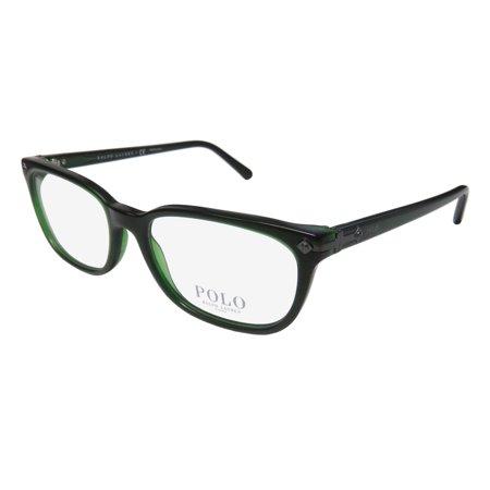 New Polo Ralph Lauren 2149 Mens/Womens Designer Full-Rim Dark Green Popular Style High-end Frame Demo Lenses 54-18-145 (Polo Glasses For Men)