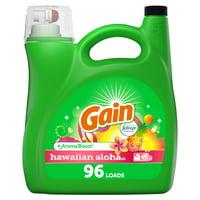 Gain Hawaiin Aloha He, 96 Loads Liquid Laundry Detergent, 150 fl oz