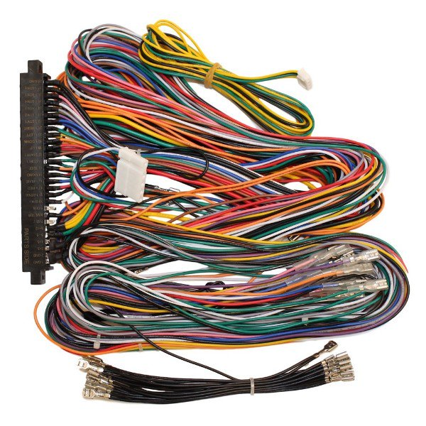Jamma Plus Board Full Cabinet Wiring Harness Loom for Jamma PCB boards -  Walmart.com - Walmart.com