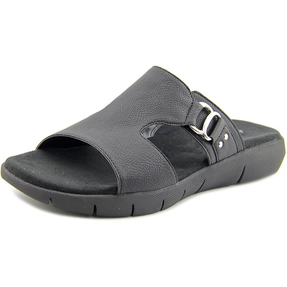 Aerosoles New Wip Women Open Toe Synthetic Black Slides Sandal by Aerosoles