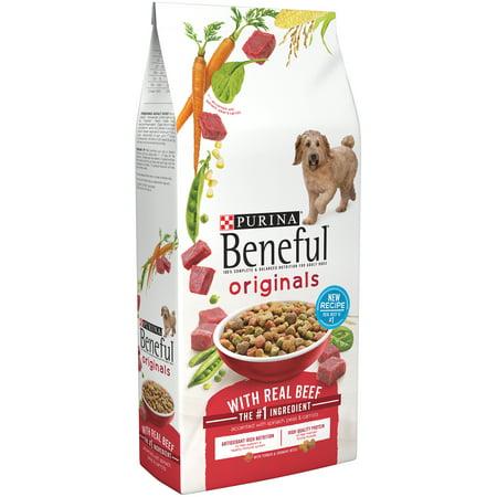 Purina Beneful originaux avec le Real boeuf sec Dog Food 31lb. Sac