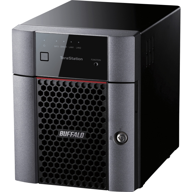 BUFFALO TeraStation 3410D 4-Bay 4 TB  RAID NAS & iSCSI Unified Storage (TS3410DN0404)