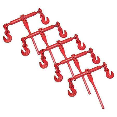 Chain Load Binder - 5 ratchet chain load binder 3/8 -1/2