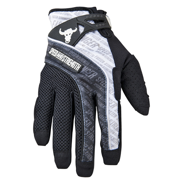 Speed & Strength Lunatic Fringe Mesh/Textile Gloves White 2XL