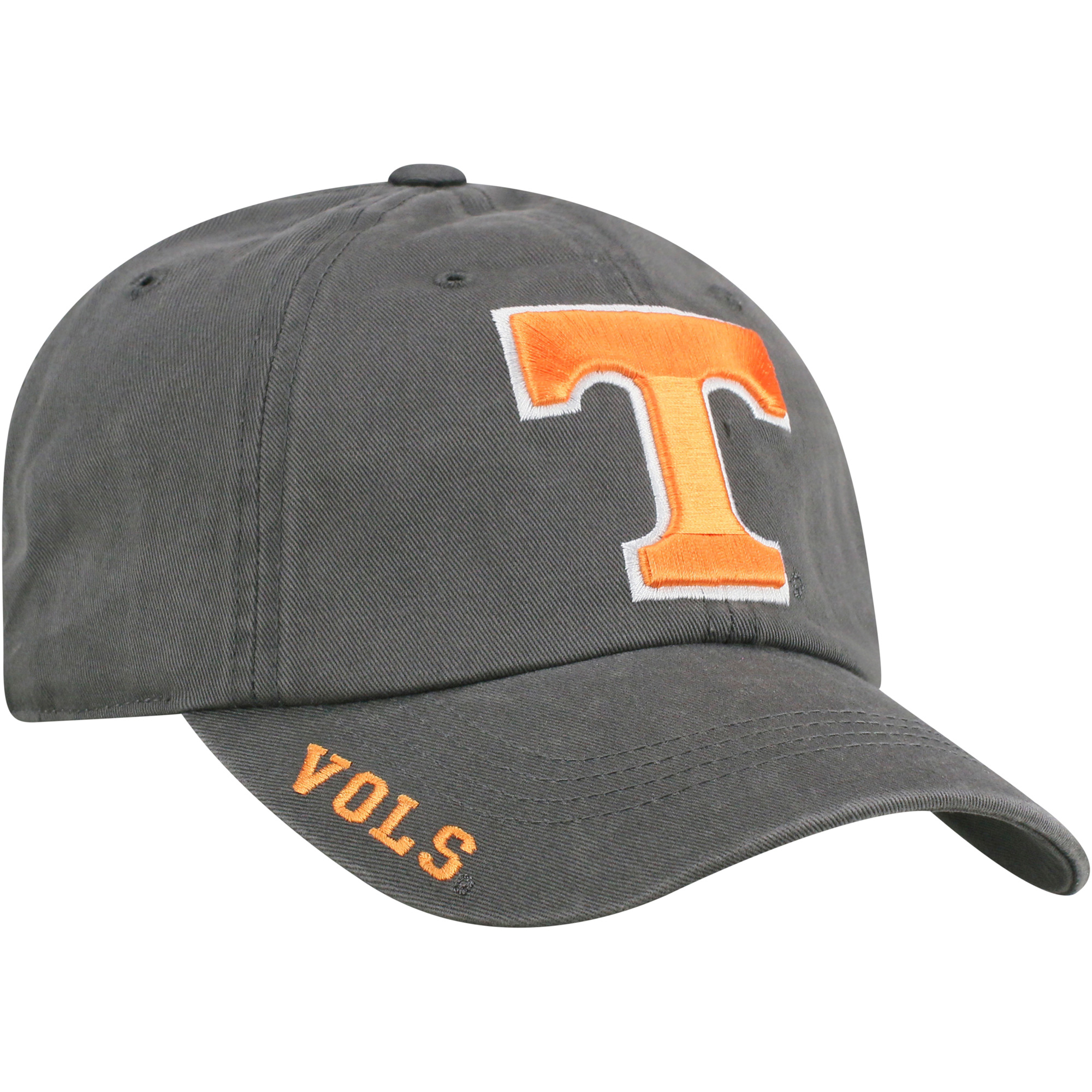 sale retailer 409cb 61c2c ... uk product image mens russell charcoal tennessee volunteers washed  adjustable hat osfa ab300 37521 order tennessee volunteers top of the world  ...
