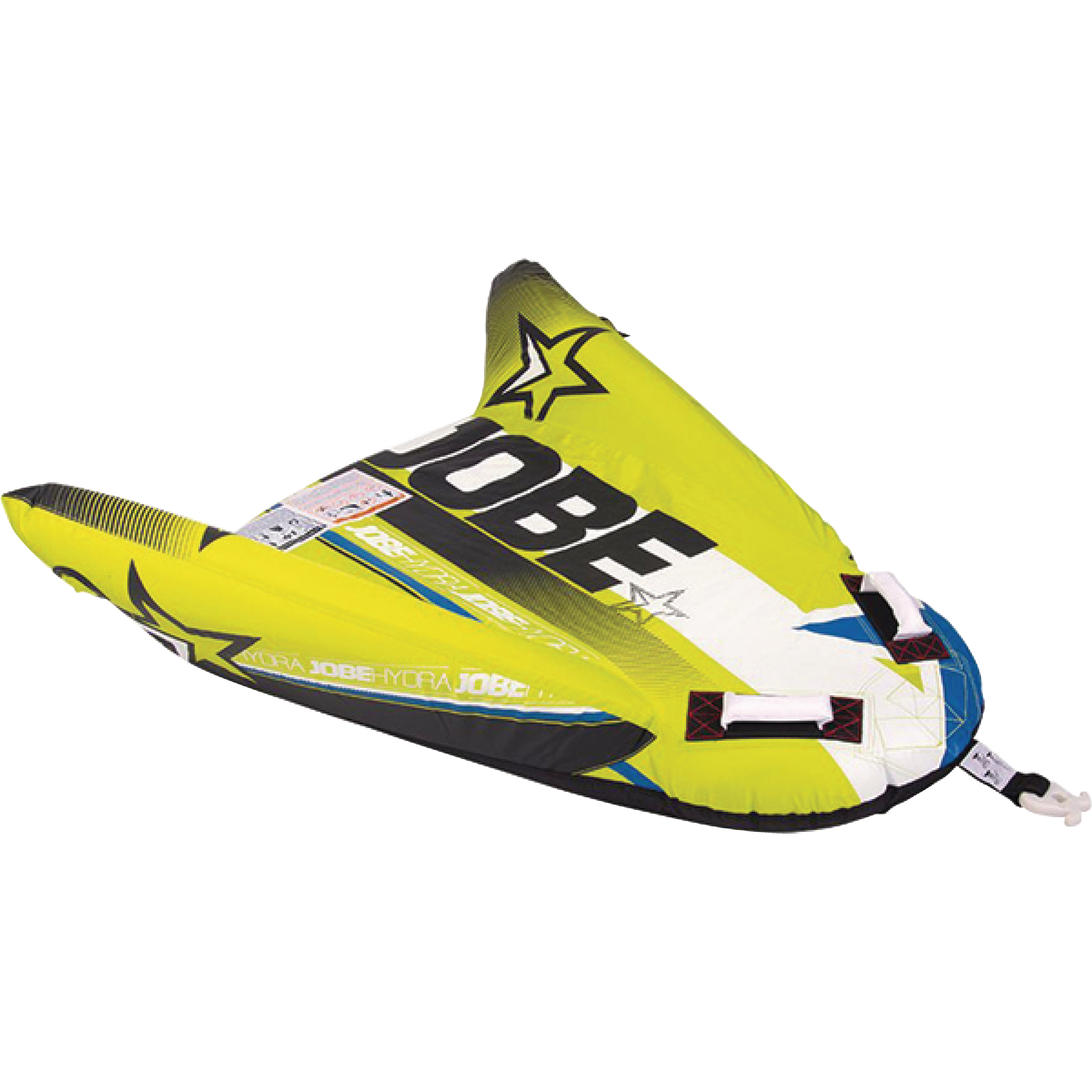 Jobe 230115002 Hydra Yellow 1 Rider Inflatable Winged Towable