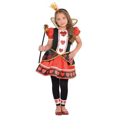 Queen of Hearts Child Costume - X-Large](Queen Of Hearts Costume Rental)