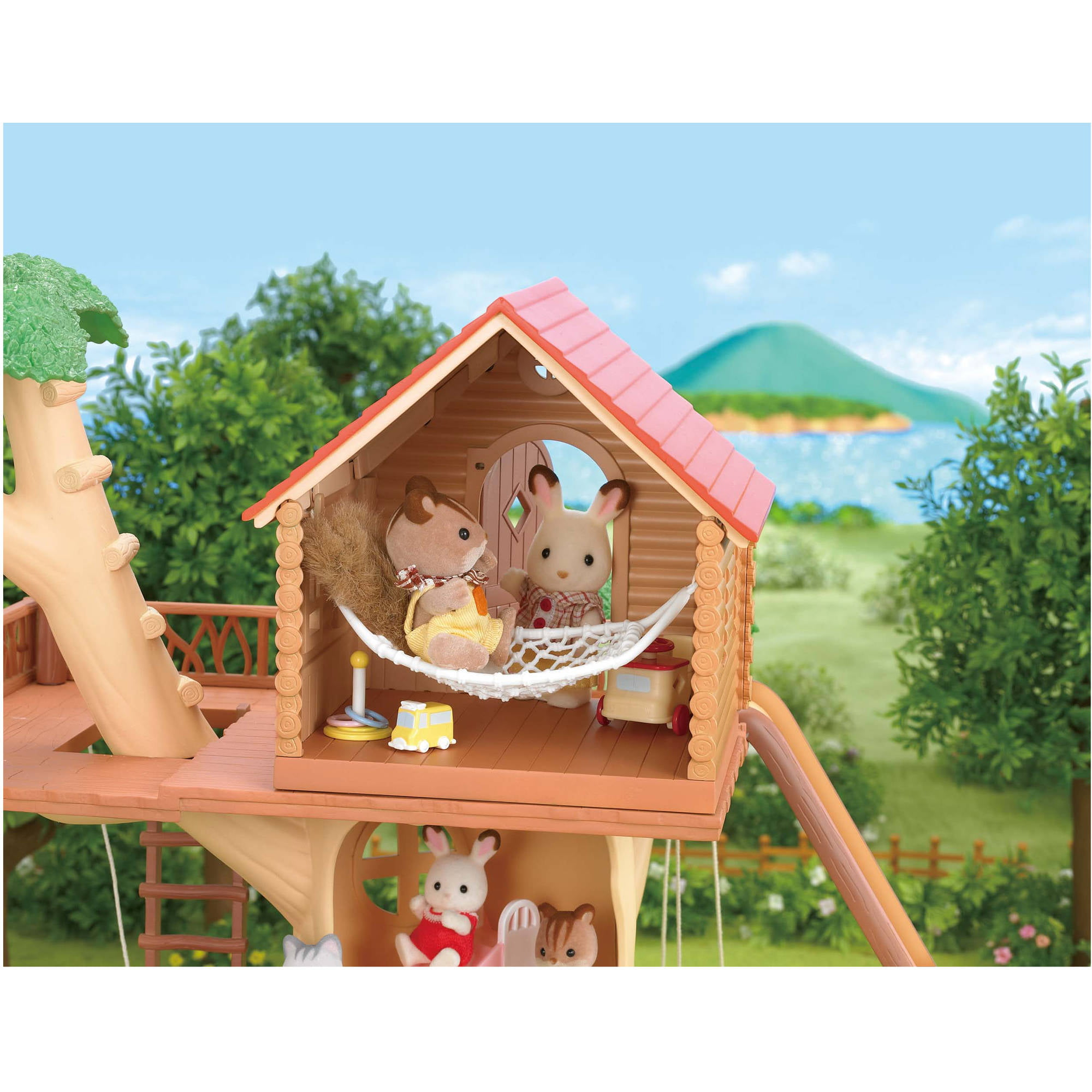 Treehouse Pictures Calico Critters Adventure Tree House Walmartcom