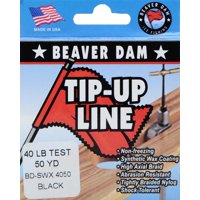 Beaver Dam Wax Tip Up Line 40lb / 50 Yd