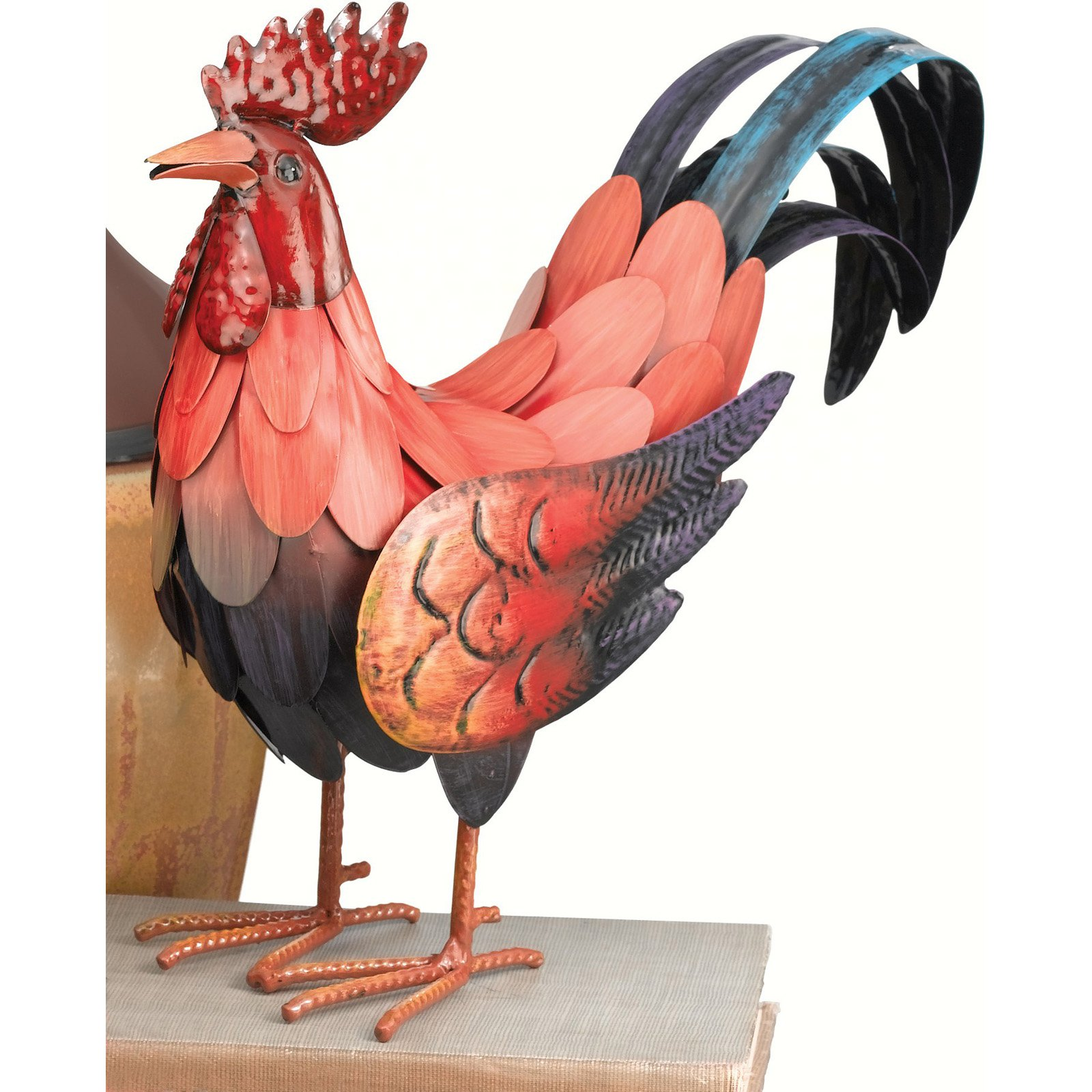 Regal Art and Gift Red Rooster Statue
