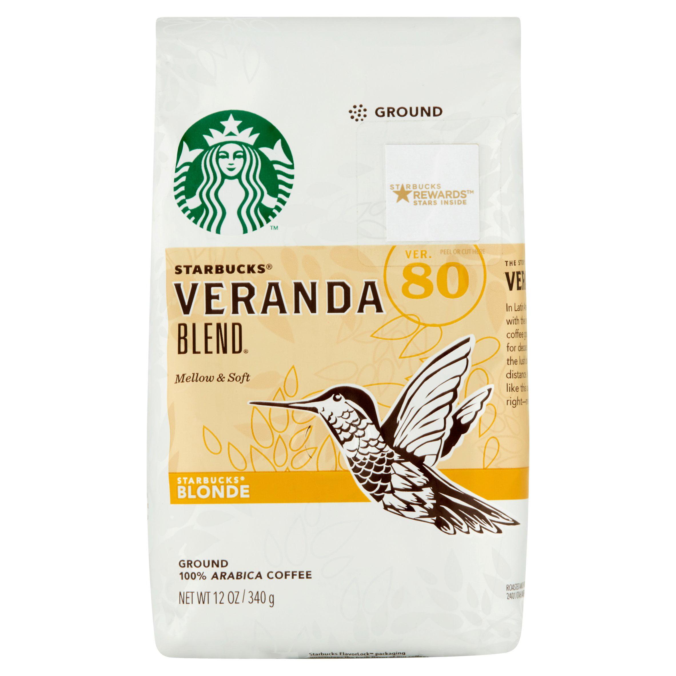 Starbucks Blonde Veranda Blend Ground Coffee 12 oz. Bag by STARBUCKS COFFEE COMPANY