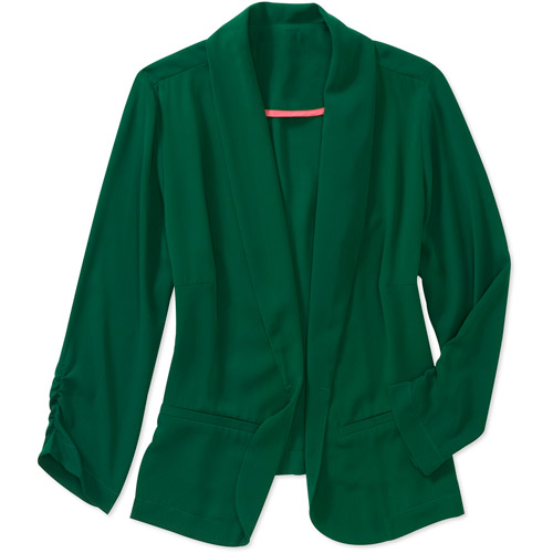 Womens Plus-size Fashion Colored Blazer