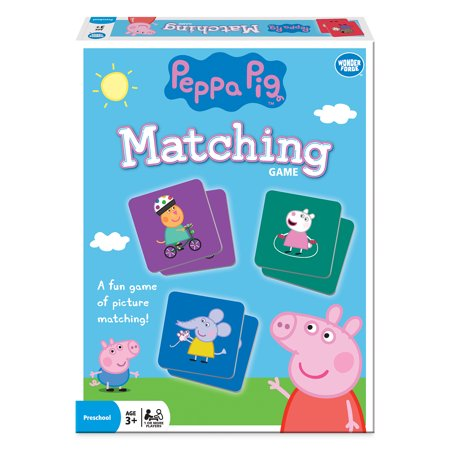 Peppa Matching Game - Halloween Pumpkin Matching Game