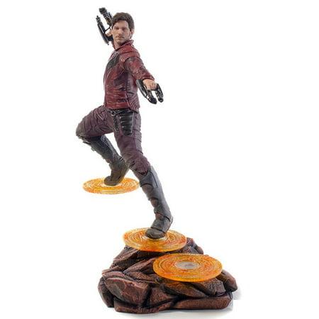 Marvel Avengers: Infinity War Star-Lord Battle Diorama Statue