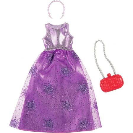 Barbie Fashions Purple Dress Pack