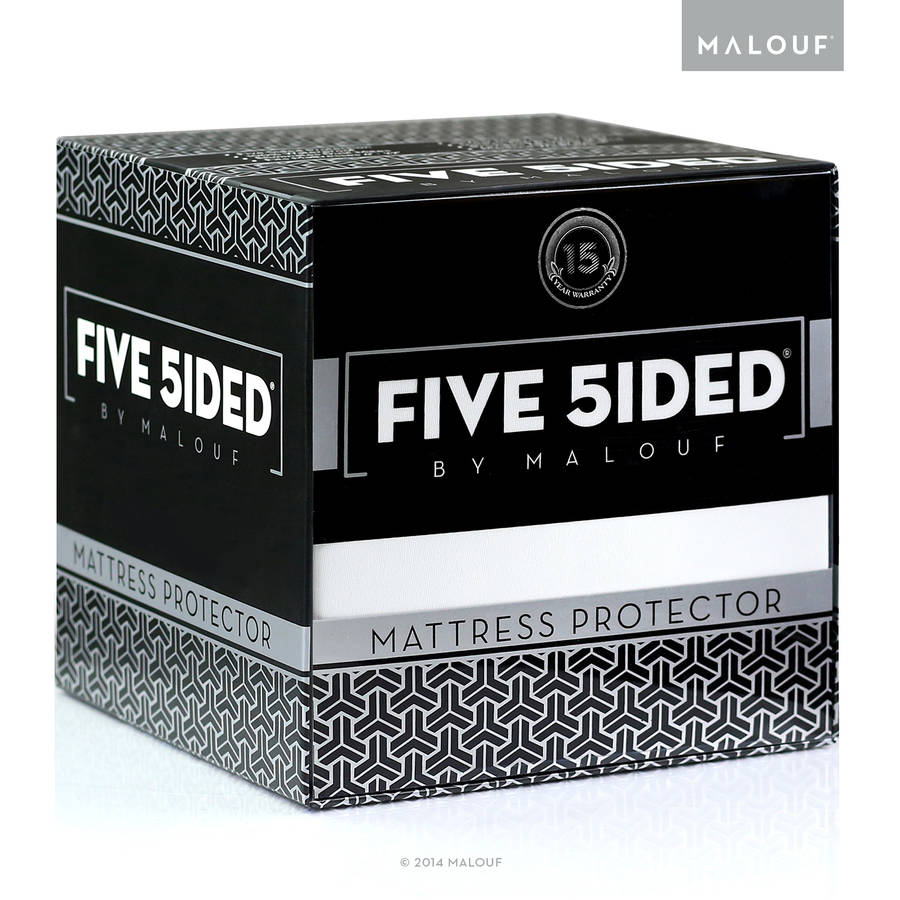 Sleep Tite Five-Sided Fitted Waterproof Mattress Protector