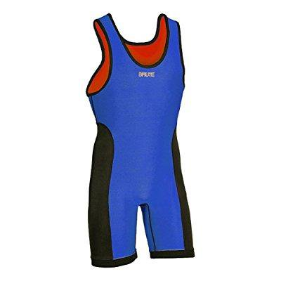 brute 2xvr reversible wrestling singlet youth large (14-16)