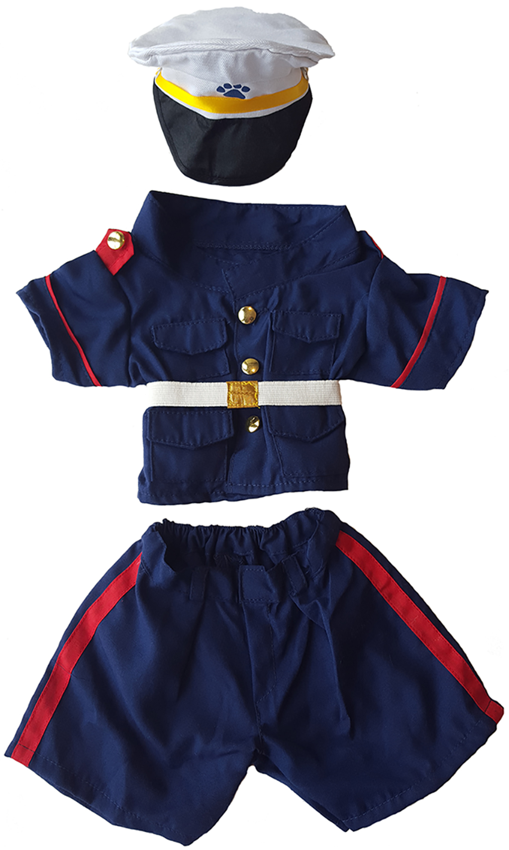 All Stars Hockey Uniform Teddy Bear Clothes Outfit Fits Most 14-18 Build-A-Bear and Make Your Own Stuffed Animals