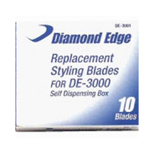 Diamond Edge Replacement Blades For DE-3000 (Box of 10)