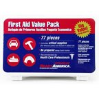 Ready America First Aid Kit Value Pack, 77 pc