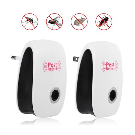 Ultrasonic Pest Repeller – NEW Electronic & Ultrasound Control, Indoor Plug-In Repellent | Anti Mice, Insects, Bugs, Ants, Mosquitos, Rats, Spiders, Roaches, Rodents (Indoor Mouse Repellent)