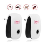 EECOO Ultrasonic Electronic Indoor Anti Mosquito Rat Mice Insects Pest Bug Control Repeller,Mosquito Repeller,Home Mosquito Repeller