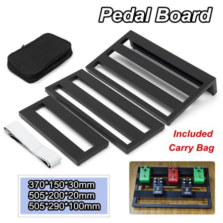 moaere s m l guitar effect pedal board pedalboard with loop stripping tape carry bag. Black Bedroom Furniture Sets. Home Design Ideas