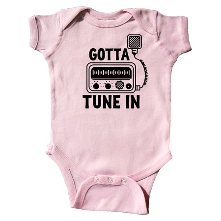 - CB Ham Radio Fan Trucker Gift Infant Creeper