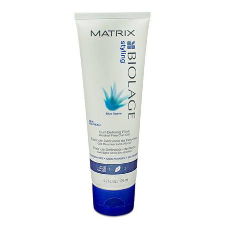 Matrix - Biolage - Curl Defining Elixir - 4.2 Oz Matrix Sleek Look Sealing Serum