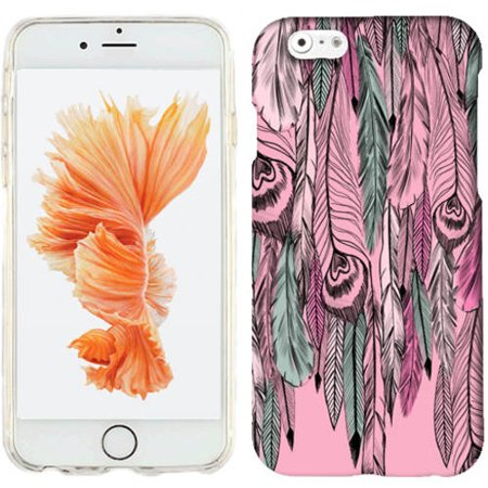 Mundaze Wild Feathers Phone Case Cover for Apple iPhone 6S Plus/6 Plus