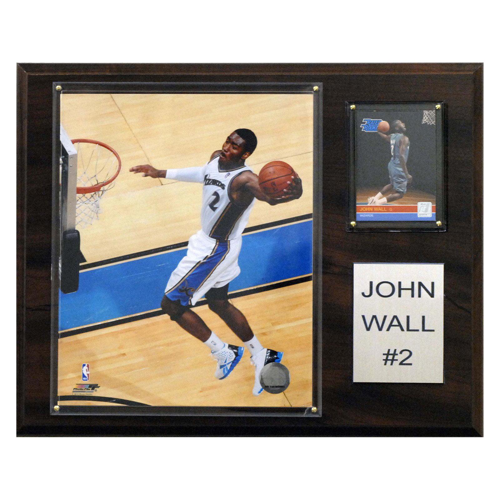 C&I Collectables NBA 12x15 John Wall Washington Wizards Player Plaque