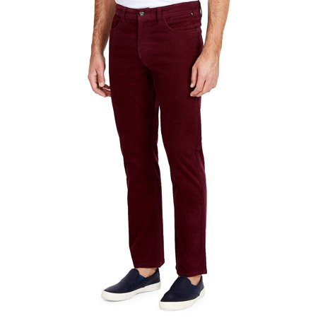 Straight-Fit Corduroy Five-Pocket Pants