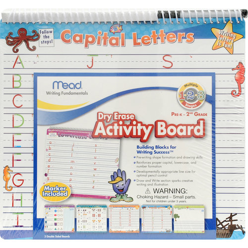 Mead Letters and Numbers Dry Erase Boards