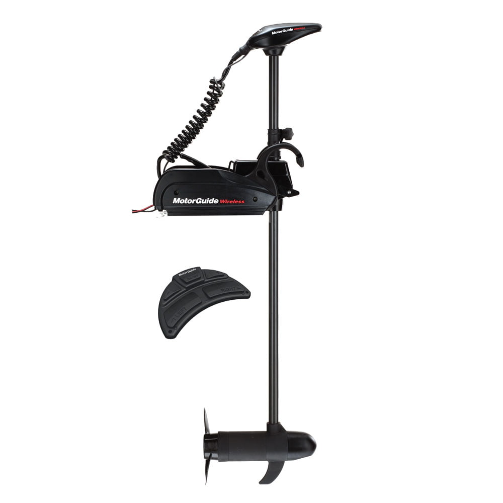 "MotorGuide W55 Wireless 48"" 12V Removable Mount Trolling Motor by MOTORGUIDE"