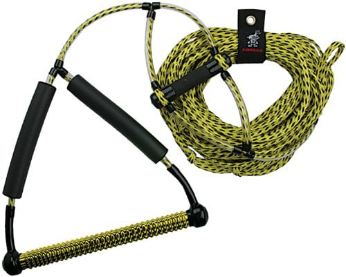 AHWR-1, 2AHS-1100 or 1200 Wakeboard Rope, Wakeboard or yellow black Phat 2AHS1100 with Grip Rope Yellow 1200 by AHWR1 By... by