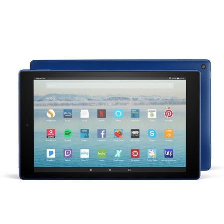 Fire Hd 10 Tablet With Alexa Hands Free  10 1    64 Gb  Marine Blue