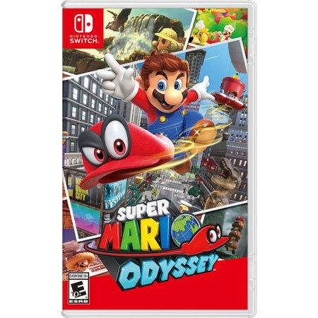 Super Mario Odyssey, Nintendo, Nintendo Switch (Pre-Owned)](Super Paper Mario Fire Tablet)