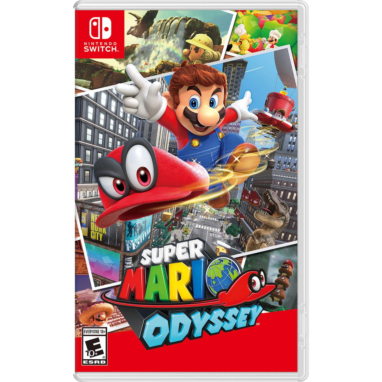 Super Mario Odyssey, Nintendo, Nintendo Switch, PRE-OWNED, 886162330984