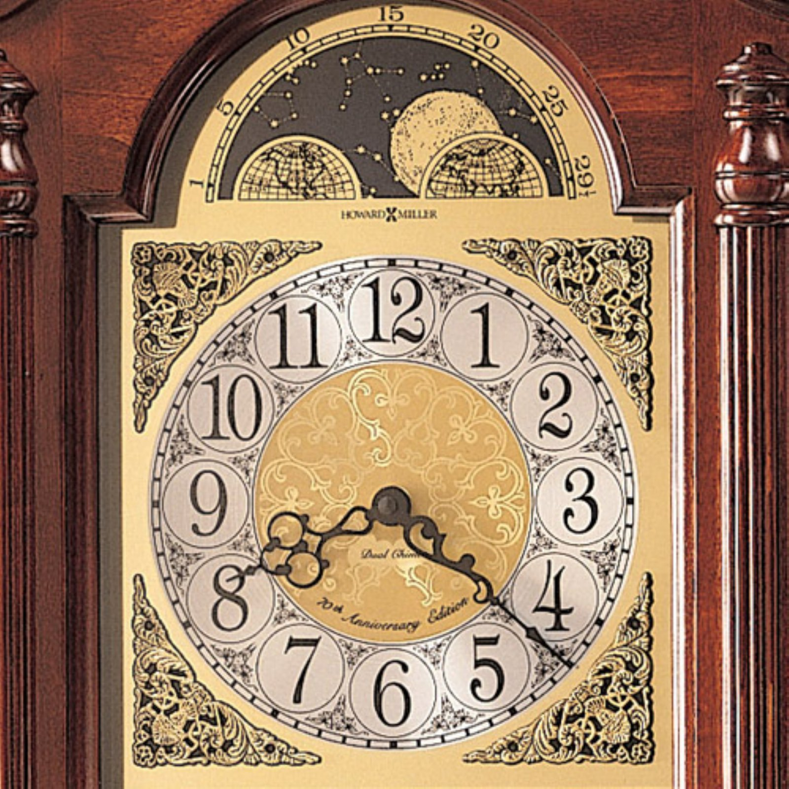 Howard Miller Fenwick Wall Clock - Walmart.com