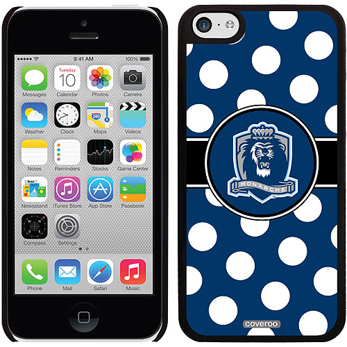 ODU Monarchs Polka Dots Design on iPhone 5c Thinshield Snap-On Case by Coveroo