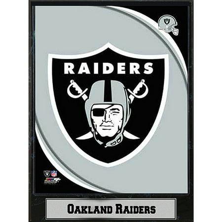 NFL Oakland Raiders Photo Plaque, 9x12 (Oakland Raiders Accessories)