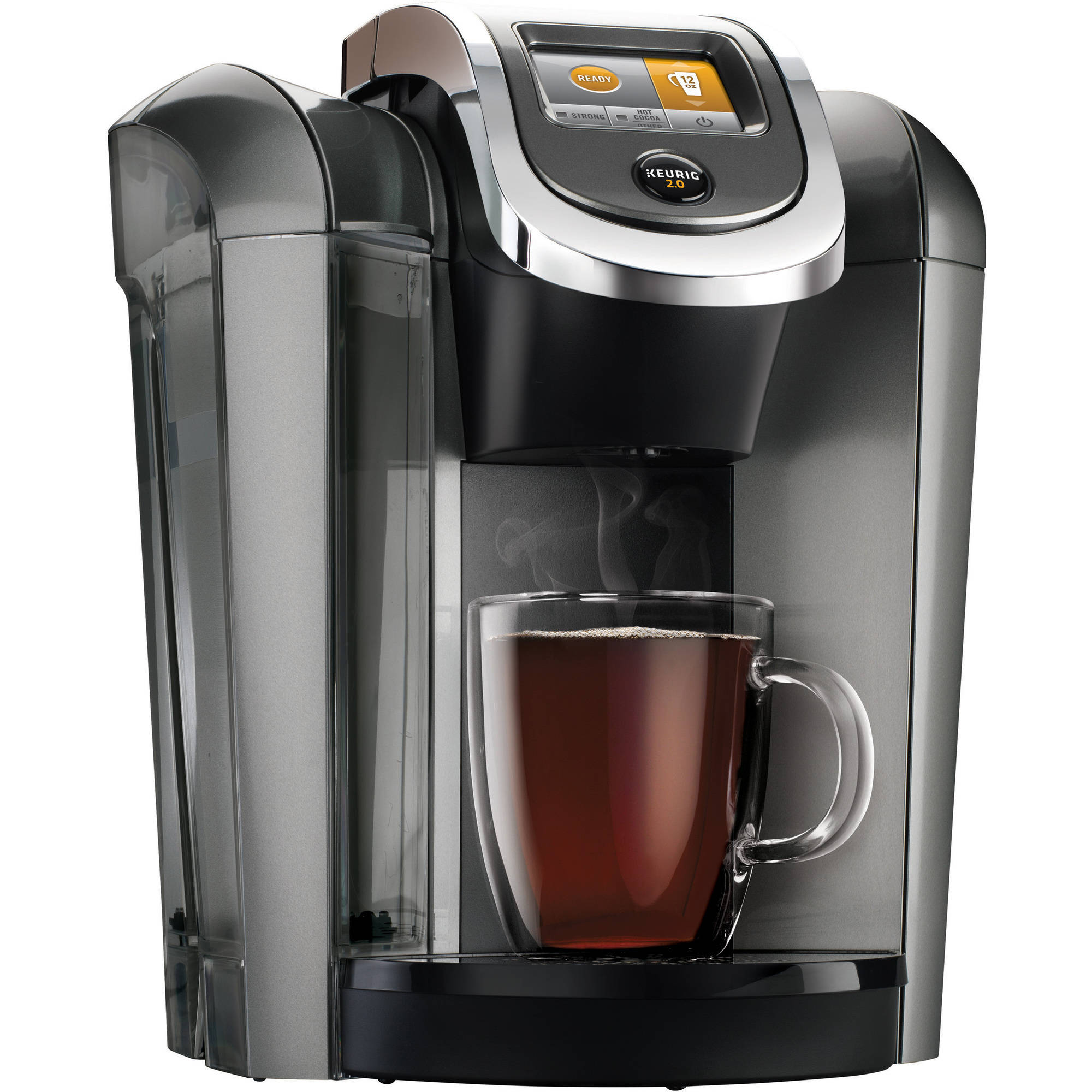 Keurig K525 Coffee Maker, Platinum
