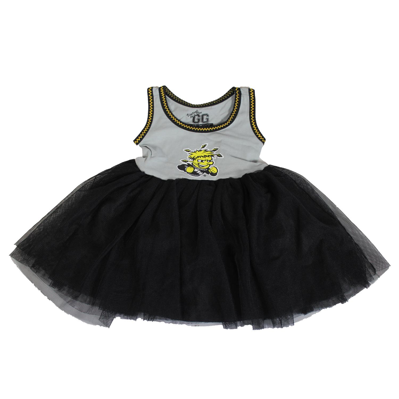 Wichita State Shockers Official NCAA Tank Dress W  Layered Flowing Skirt. Skirt 12M by Glitter Gear by Glitter Gear