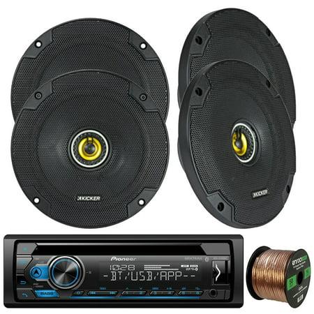 pioneer deh-s4100bt in-dash single-din cd player bluetooth receiver, 4