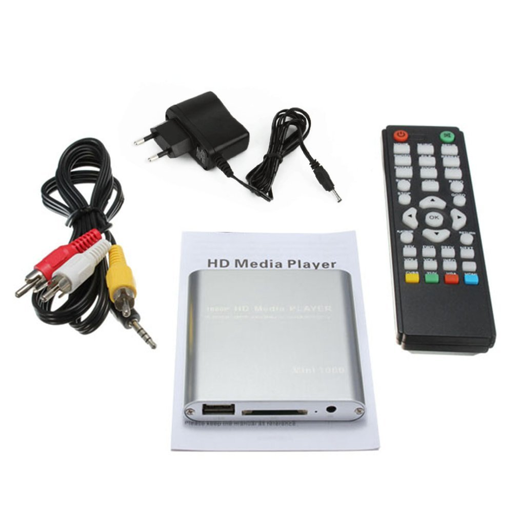 Mini USB HD 1080P MKV AV Port HDMI Video Audio Digital Multi Media Player