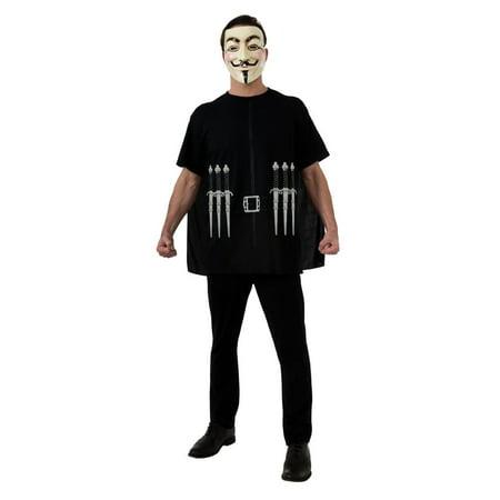 V For Vendetta Costume Set Adult