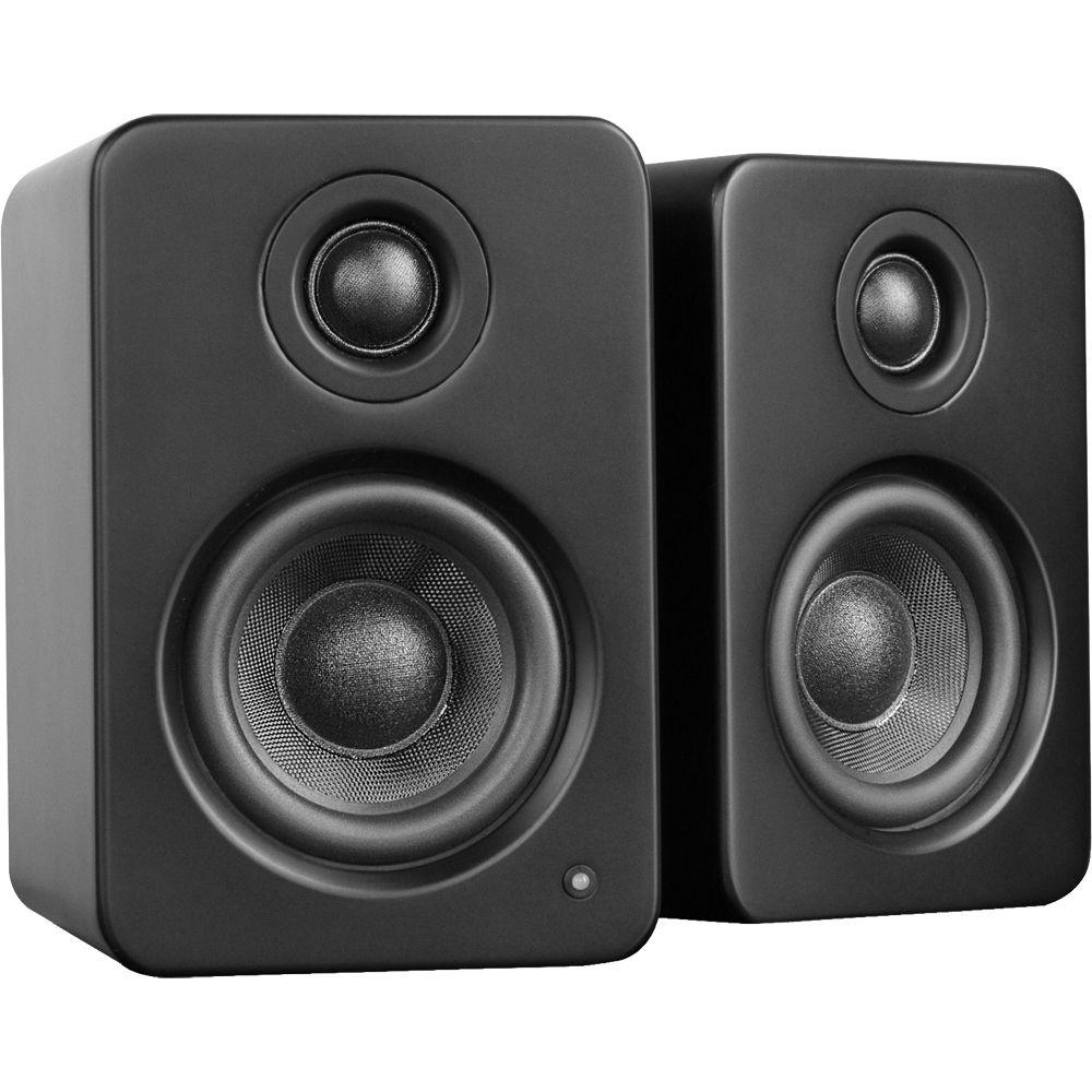 Kanto Living YU2 Powered Desktop Speakers, Matte Black